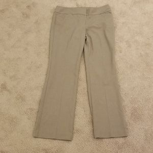 Loft Brown Dress Pants-Size 6 Petite
